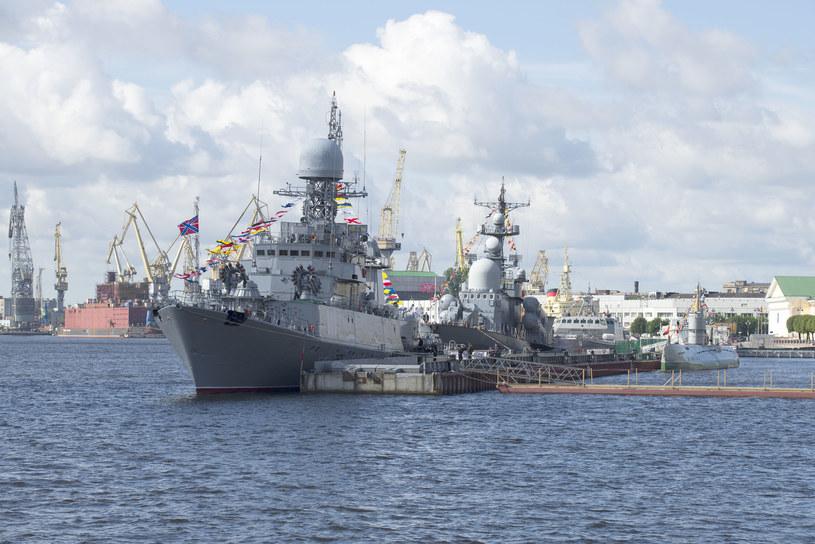 Okręty Floty Bałtyckiej rosyjskiej marynarki/ zdj. ilustracyjne /123RF/PICSEL