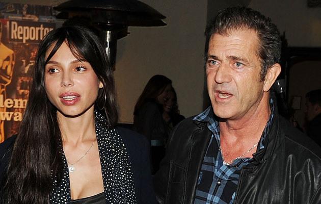 Oksana Grigorieva i Mel Gibson, fot. Angela Weiss  /Getty Images/Flash Press Media