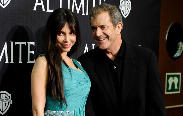 Oksana Grigorieva i Mel Gibson, fot. Carlos Alvarez  /Getty Images/Flash Press Media