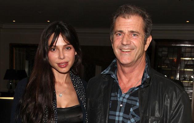 Oksana Grigoriewa i Mel Gibson, fot. Angela Weiss  /Getty Images/Flash Press Media