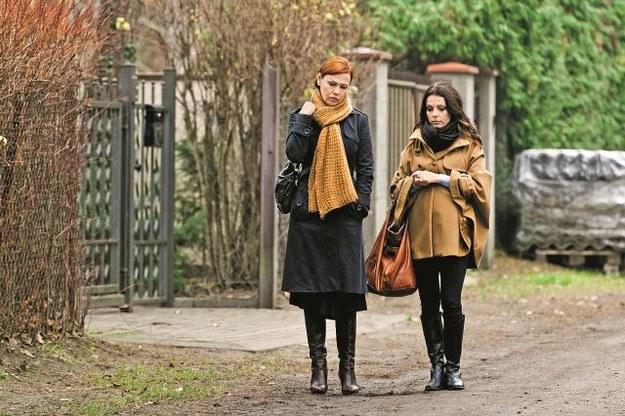 Oksana mówi Kasi, że żałuje,  iż musi rozstać się ze Stefanem. /Mat. Prasowe