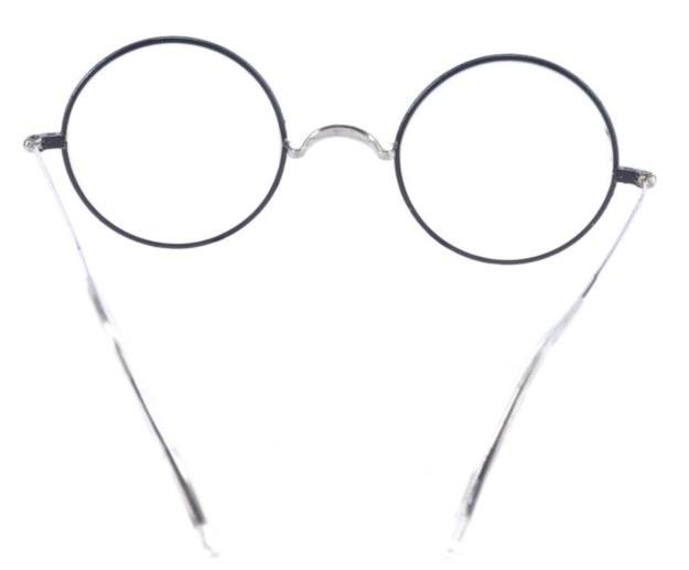 """Okulary Daniela Radcliffe'a z filmów """"Harry Potter i Insygnia Śmierci"""" /PROP STORE /"""