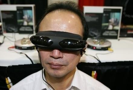 Okulary do oglądania filmów porno /AFP