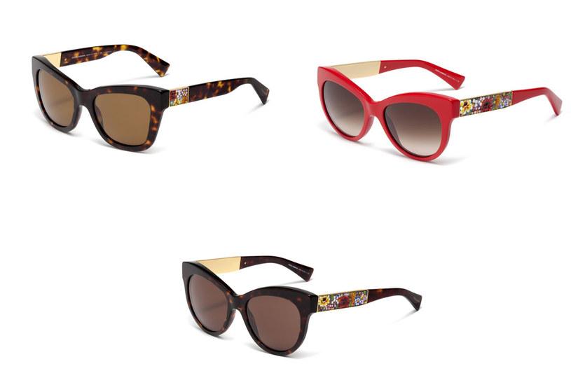 Okulary Dolce&Gabbana /materiały prasowe