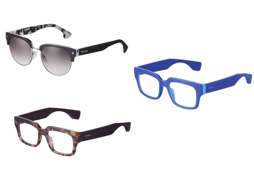 Okulary marki Prada /materiały prasowe