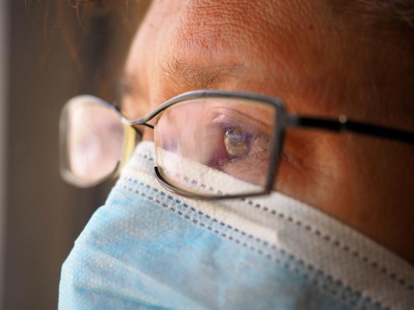 Okulary to także ochrona przed wirusem /Carlos Garcia Granthon/Fotoholica Press/LightRocket /Getty Images