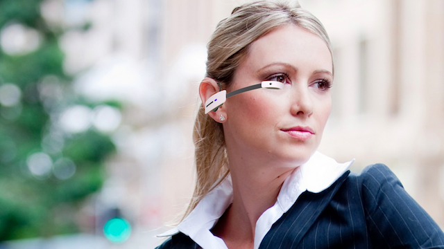 Okulary Vuzix M100 będą tańszą konkurencją dla Google Glass /materiały prasowe