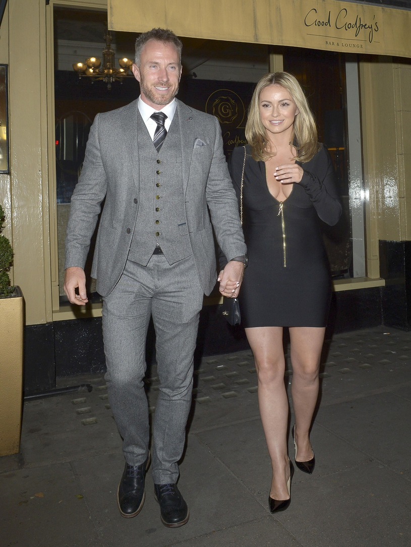 Ola Jordan z mężem Jamesem Jordanem /East News