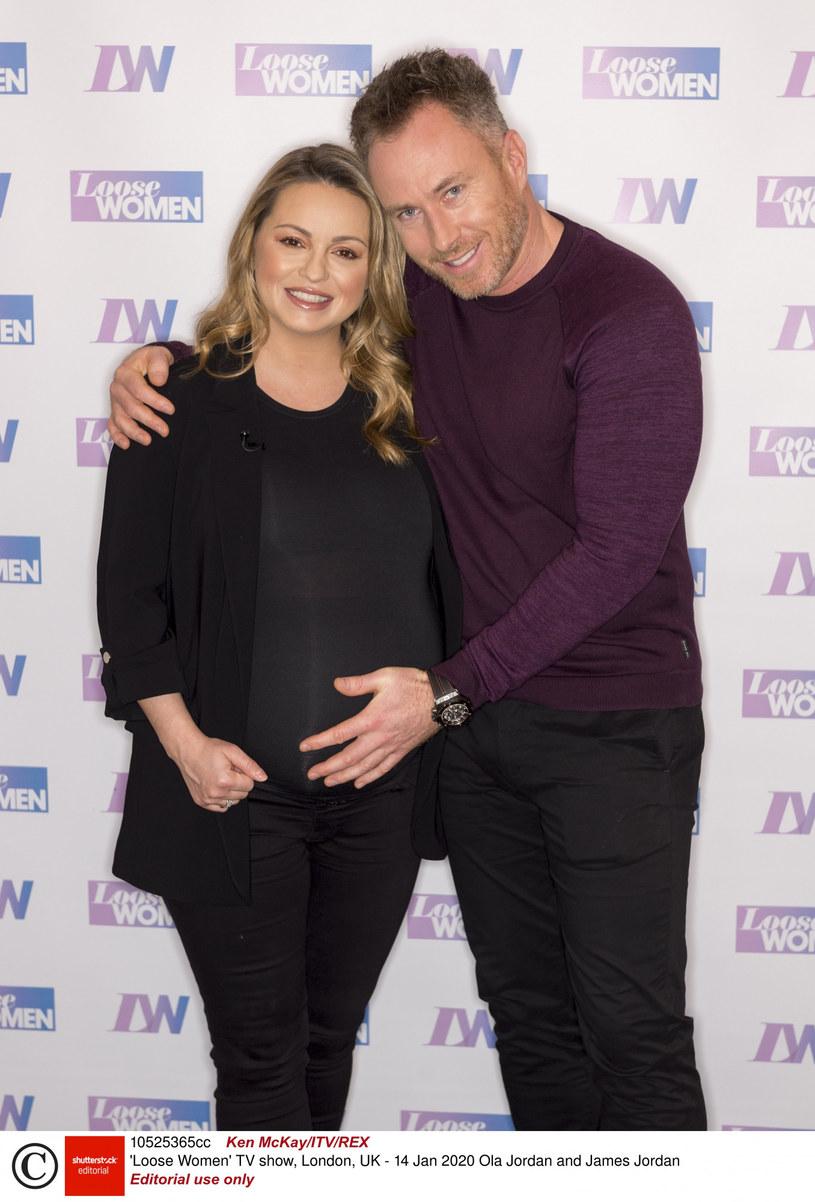 Ola Jordan z mężem Jamesem /Ken McKay/ITV/REX/Shutterstock /East News