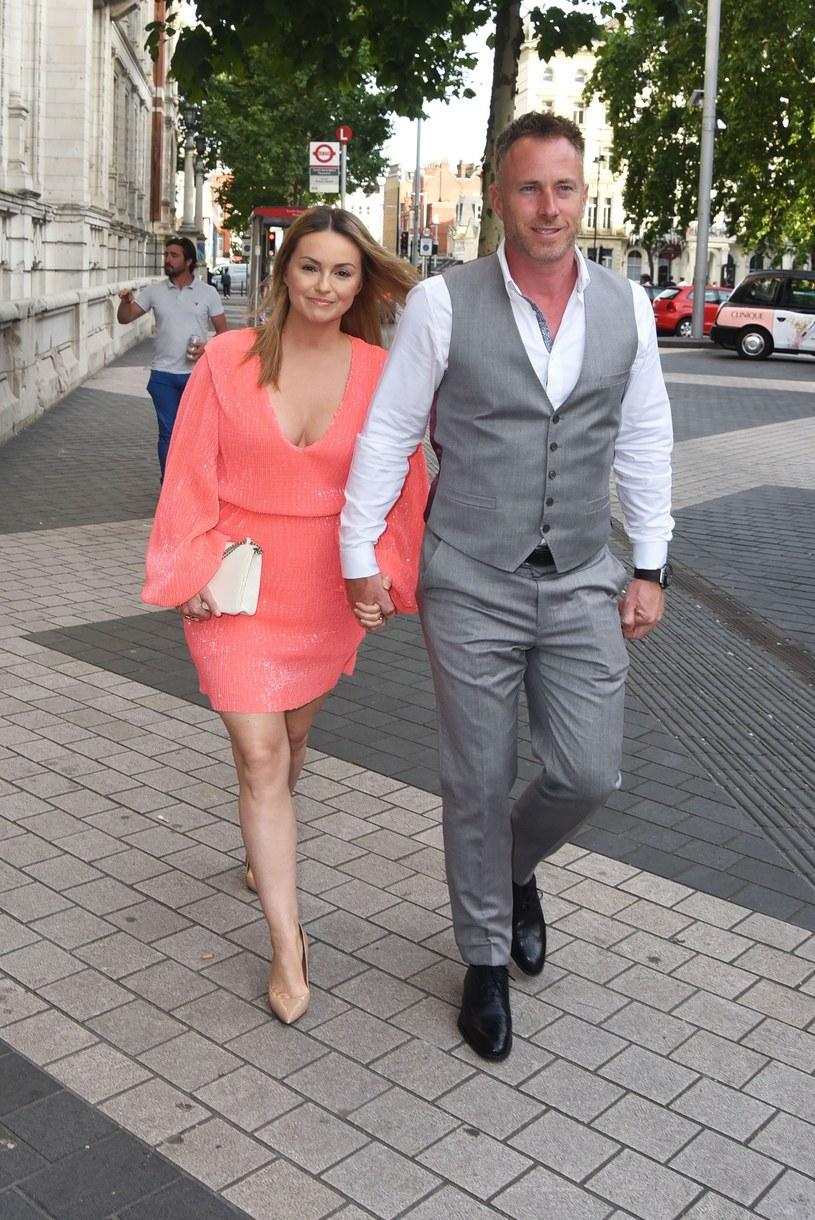Ola Jordan z mężem /Alucard / SplashNews.com /East News