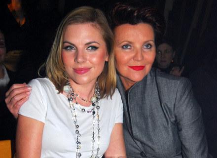 Ola Kwaśniewska z mamą Jolantą /MWMedia