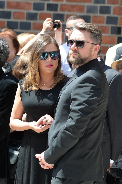 Ola Kwaśniewska z mężem Kubą Badachem /Jan Mulczyk /MWMedia