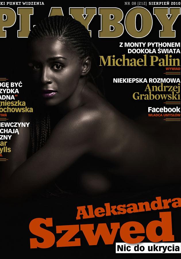 """Ola na okładce """"Playboya""""  /MWMedia"""