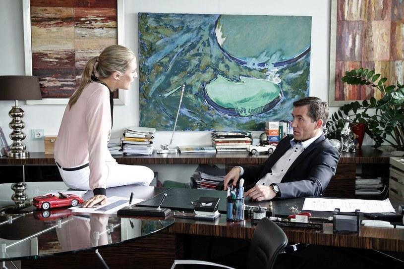 Ola nie odpuściteż Karolowi - Nie pytam, czy podoba ci się jej rozmiar. Pytam, czy chcesz zostać w tej rodzinie? /materiały prasowe