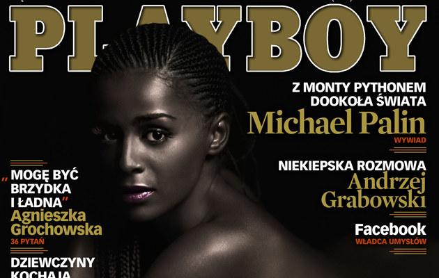 """Ola Szwed na okładce sierpniowego """"Playboya""""  /MWMedia"""