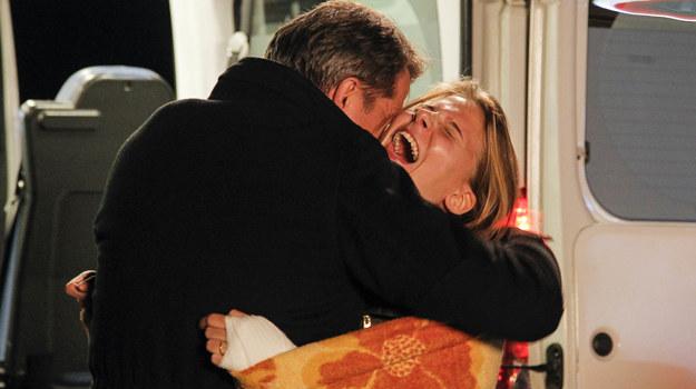 Ola trafi w końcu w ramiona swojego ojca /Jordan Krzemiński /AKPA
