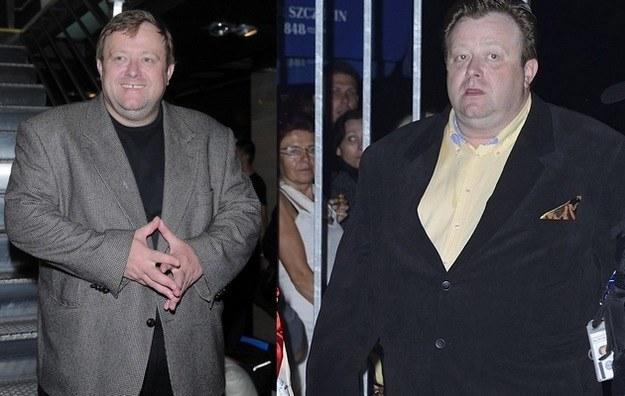 Olaf Lubaszenko schudł już 40 kilogramów! /- /MWMedia
