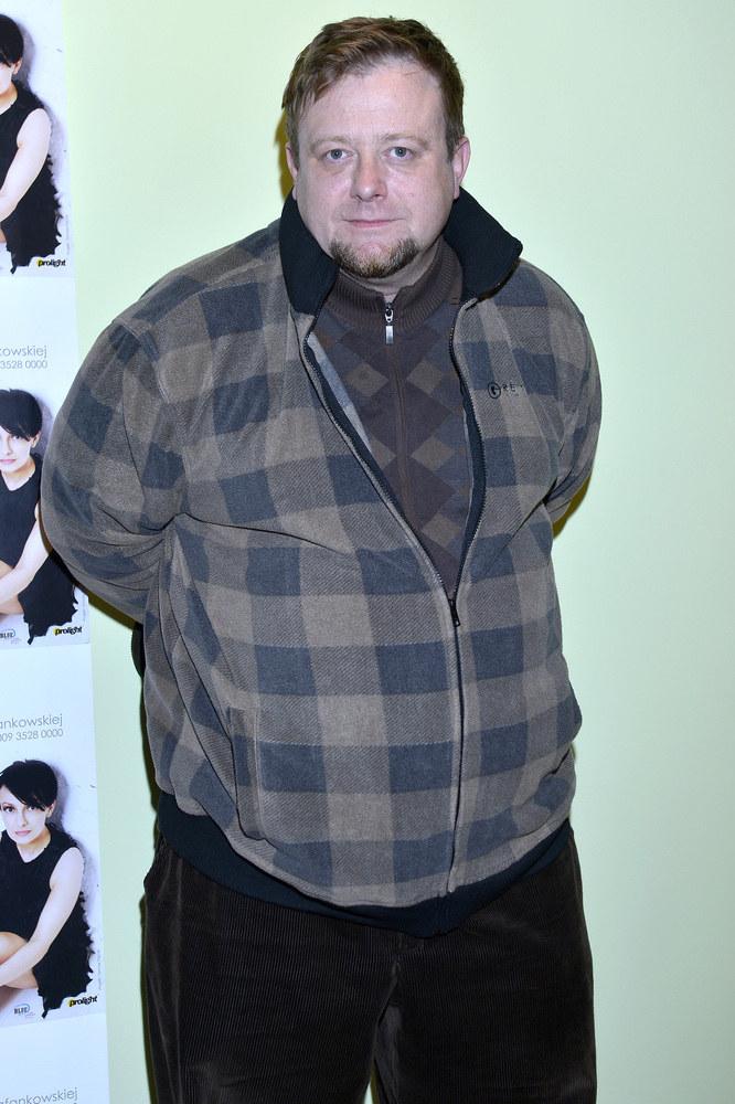 Olaf Lubaszenko w krytycznym momencie ważył 135 kg /Gałązka /AKPA