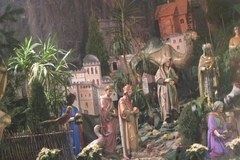 Olbrzymia szopka w Panewnikach przyciąga tłumy