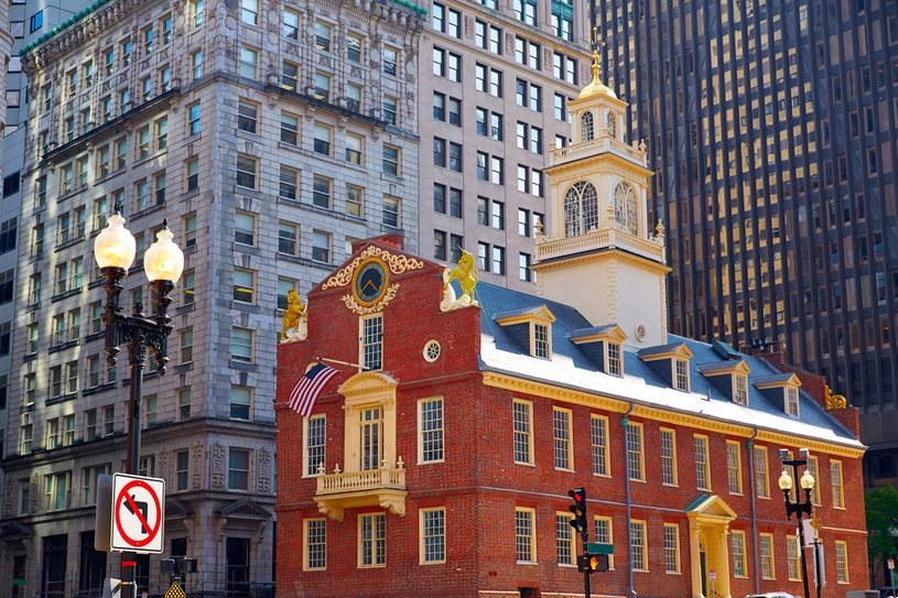 Old State House w Bostonie /123RF/PICSEL