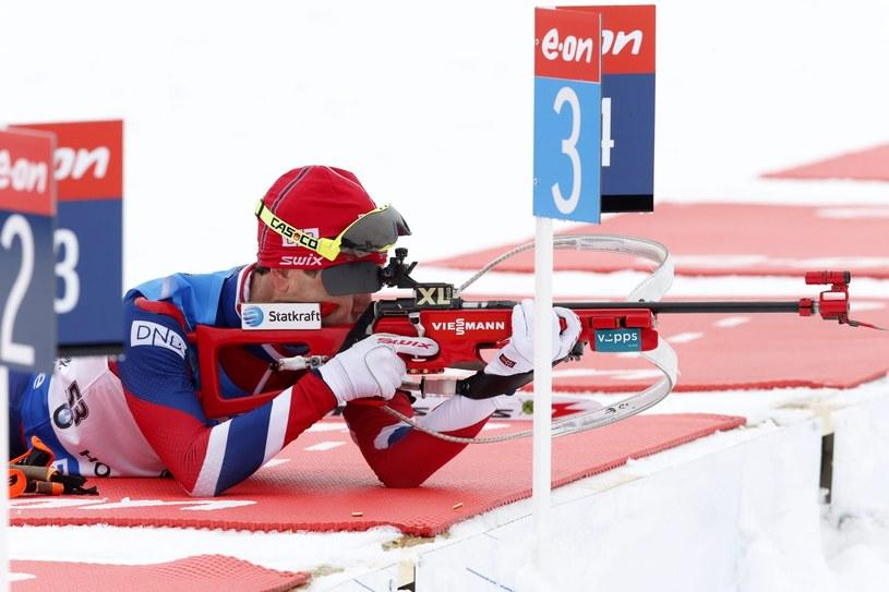 Ole Einar Bjoerndalen jest jak wino. /PAP/EPA
