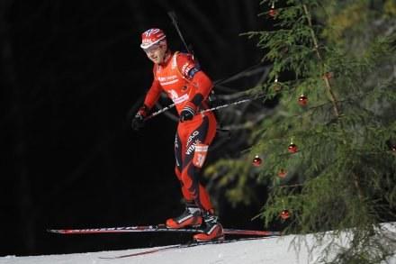 """Ole Einar Bjoerndalen - """"Król nart"""". /AFP"""