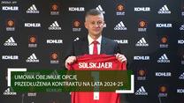 Ole Gunnar Solskjaer podpisuje nowy kontrakt w roli menedżera. Wideo