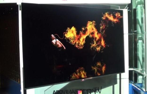 OLED LG EM9600 - najbardziej zaawansowany technologicznie telewizor na świecie? /INTERIA.PL