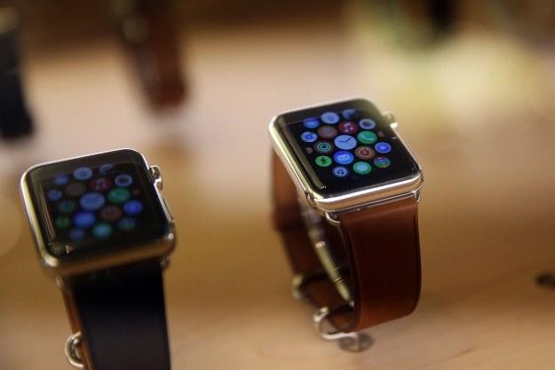 OLED LG znajdziemy w zegarku Apple Watch /AFP