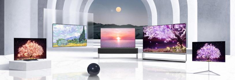 OLED, QNED Mini LED i NanoCel - nowe telewizory LG na 2021 rok /materiały prasowe