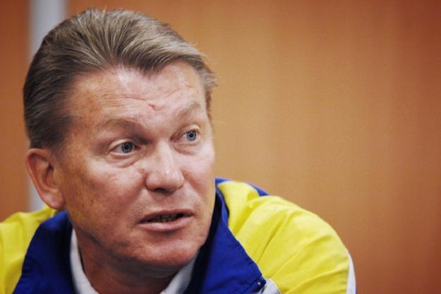 Oleg Błochin jest jednym z kandydatów do objęcia reprezentacji Ukrainy /AFP