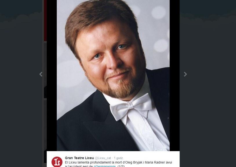 Oleg Bryjak /Twitter