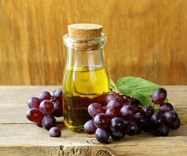 Olej z pestek winogron dla zdrowych włosów