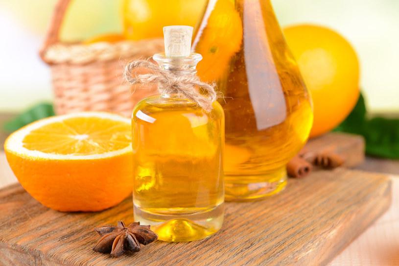 Olejek pomarańczowy odpręża