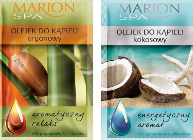 Olejki do kąpieli firmy Marion /materiały prasowe