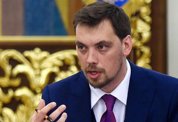 Ołeksij Honczaruk, premier Ukrainy /AFP