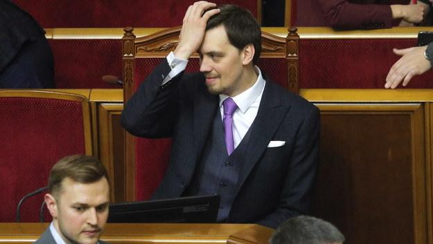 Ołeksij Honczaruk /SERGEY DOLZHENKO /PAP/EPA