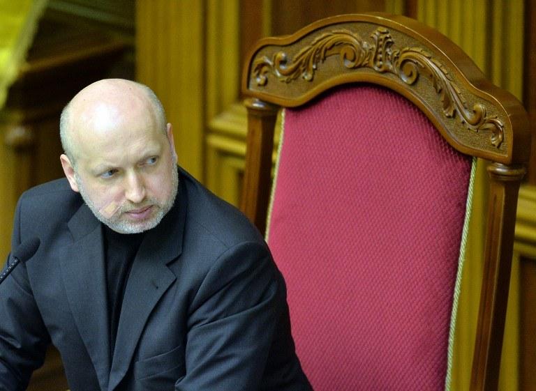 Ołesandr Turczynow /AFP