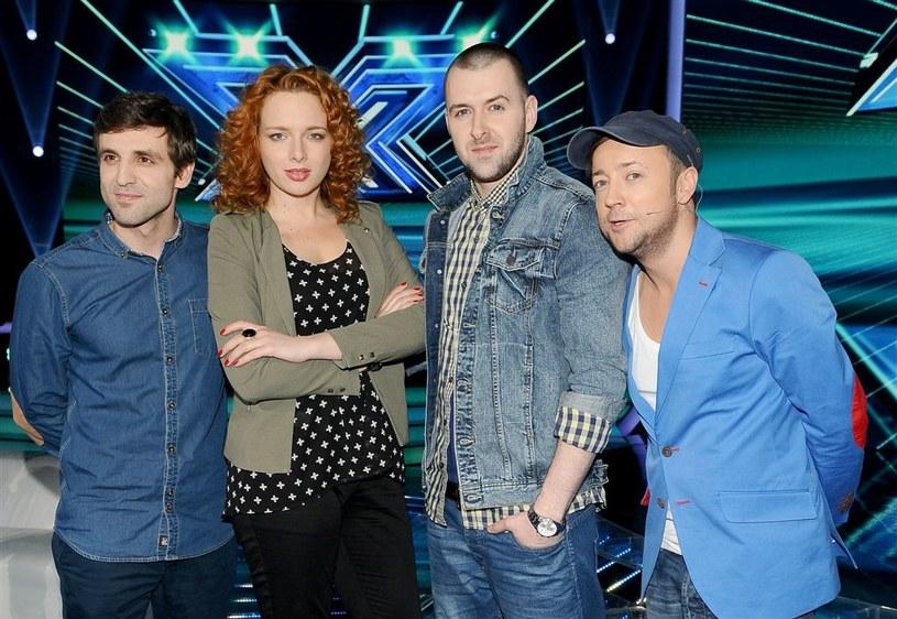 "Olga Barej w programie ""X Factor"" /pomponik exclusive"