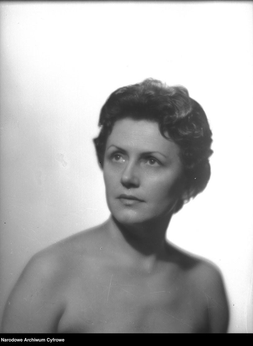 Olga Bielska /Z archiwum Narodowego Archiwum Cyfrowego