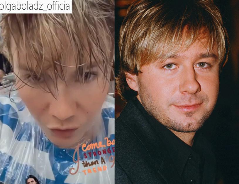 Olga Bołądź i Andrzej Piaseczny /Prończyk/Instagram /AKPA