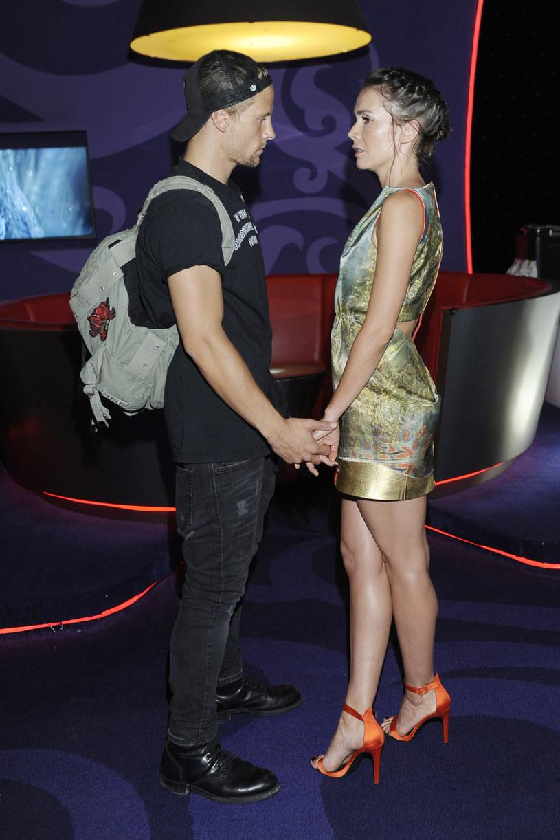 Olga Bołądź i Sebastian Fabijański już nie ukrywają tego, że są razem /AKPA