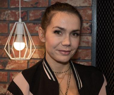 Olga Bołądź kręci na Islandii