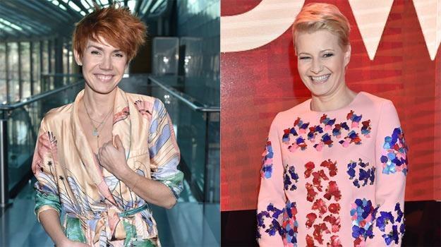 """Olga Bołądź (""""Służby specjalne"""") i Małgorzata Kożuchowska (""""rodzinka.pl"""")  zapraszają do TVP 2 /AKPA"""