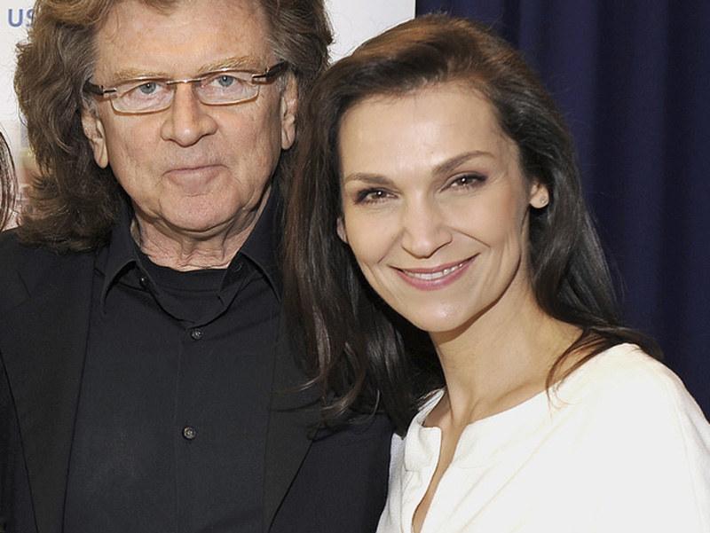 Olga Bończyk i Zbigniew Wodecki /Gałązka /AKPA