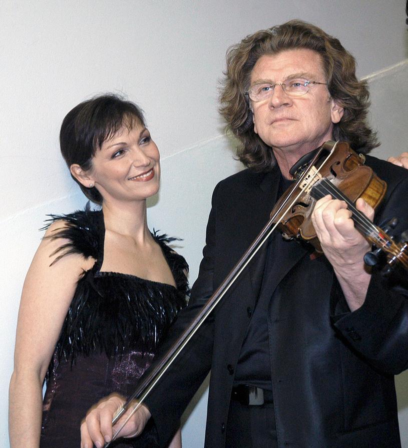 Olga Bończyk i Zbigniew Wodecki /Zawada /AKPA