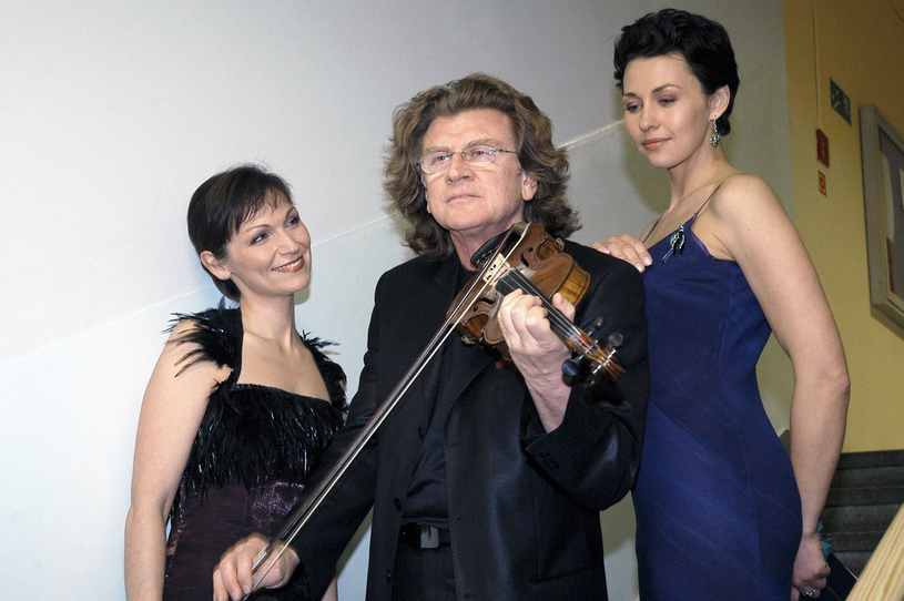 Olga Bończyk, Zbigniew Wodecki i Anka Popek /Zawada /AKPA