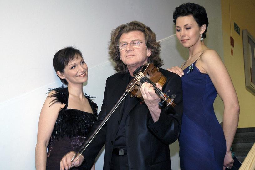 Olga Bończyk, Zbigniew Wodecki i Anna Popek, 2005 rok /Zawada /AKPA