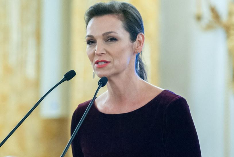 Olga Bończyk /Grzegorz Krzyzewski /Reporter
