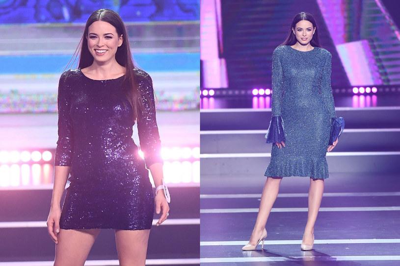 Olga Buława podczas gali Miss Polski 2018 /Mateusz Jagielski /East News